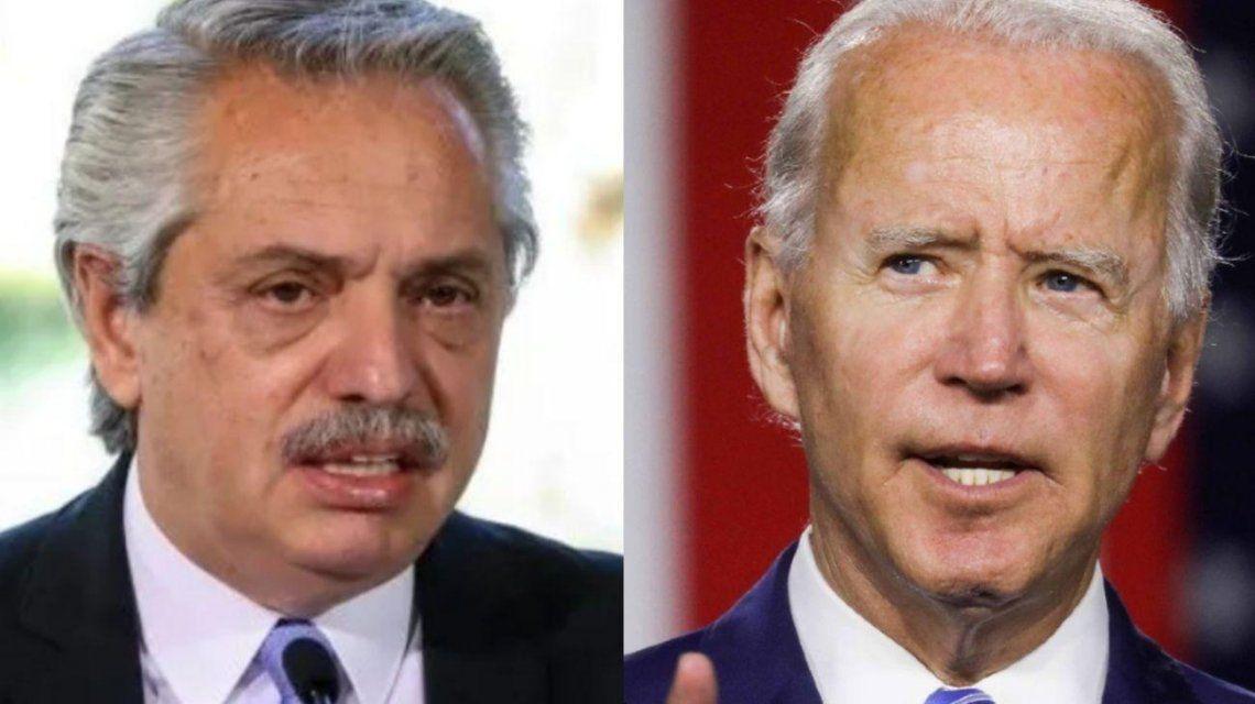 El contacto entre Alberto Fernández y Joe Biden lo venía trabajando desde hace unos días el embajador en ese país