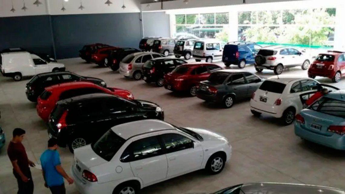 Autos: los patentamientos crecieron en enero.
