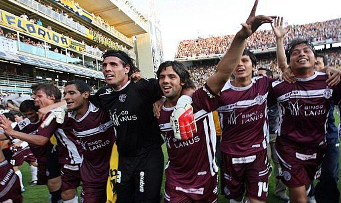 Se cumple trece años de la obtención del Apertura 2007 por parte de Lanús.