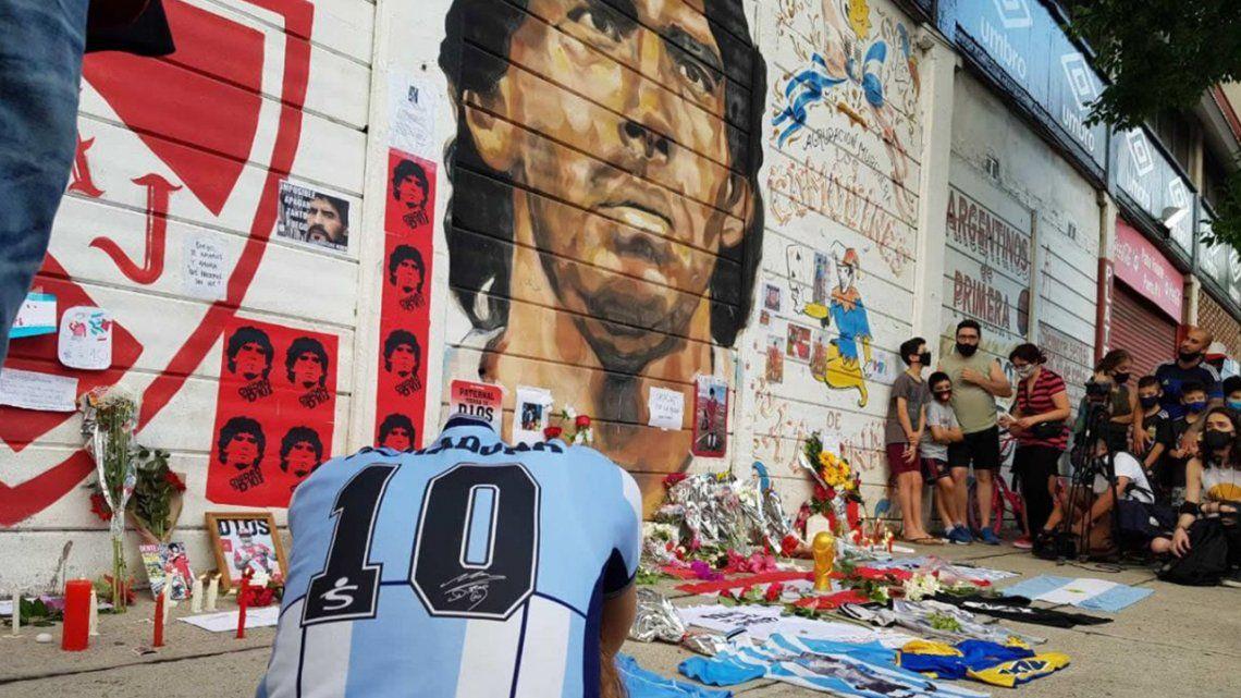 La Avenida Diego Maradona uniría el estadio de Argentinos Juniors con su campo de entrenamiento