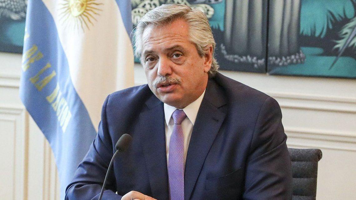 Alberto Fernández habló de las PASO.