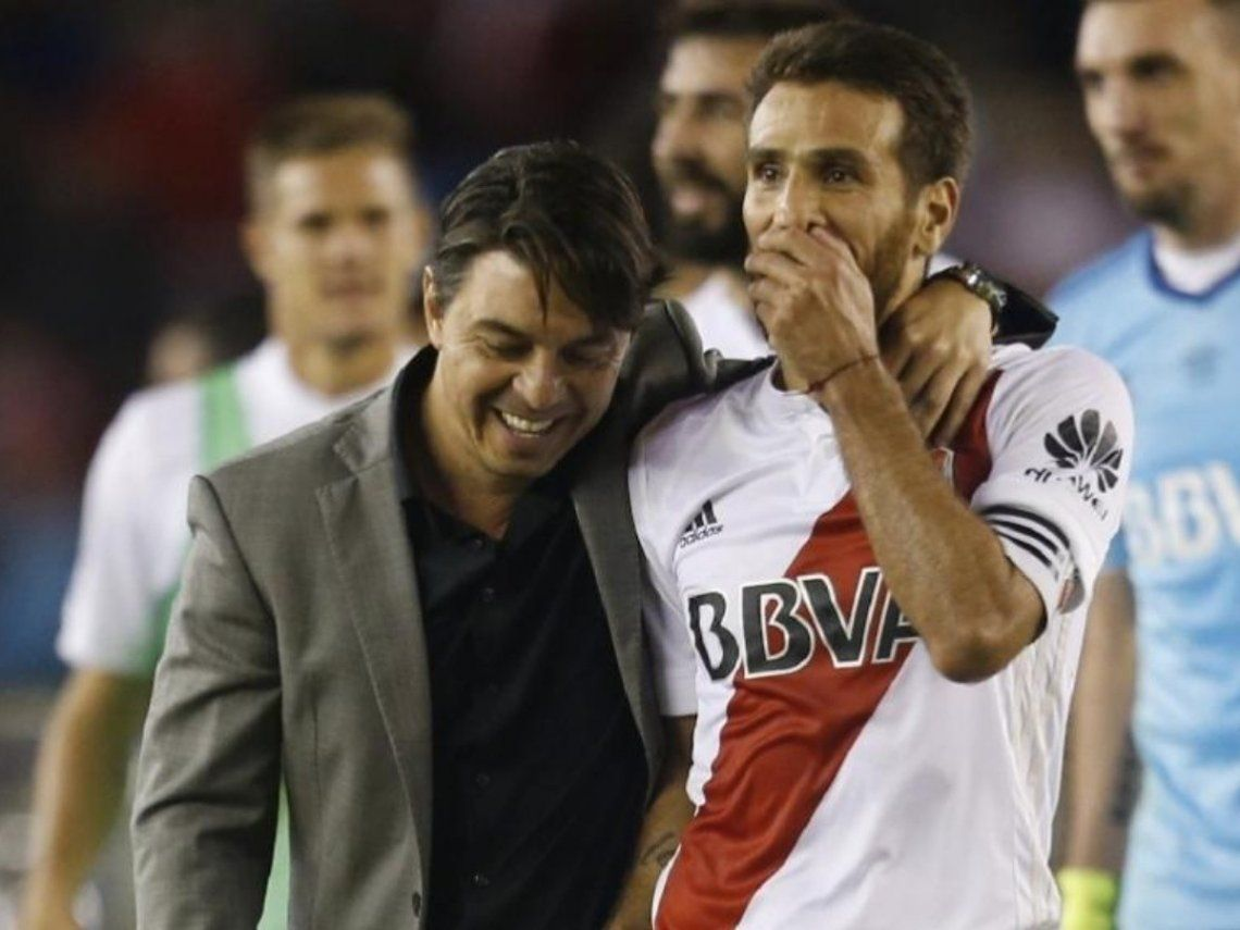 Leonardo Ponzio es el jugador con más títulos en el equipo de Marcelo Gallardo.