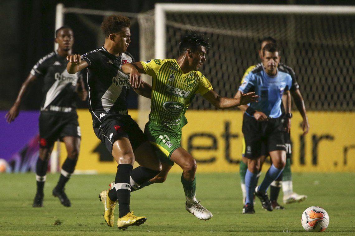 Defensa y Justicia aprovechó su portunidad en Río y está en cuartos de final