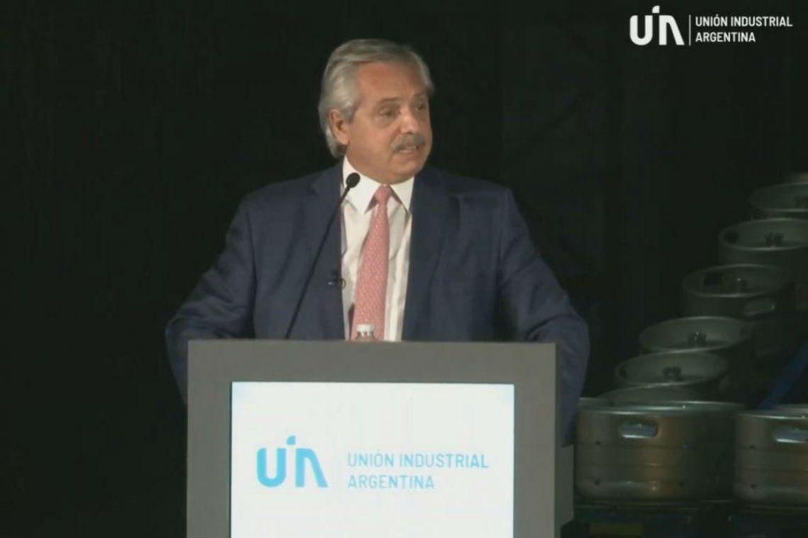 Alberto Fernández cerró la Conferencia Industrial