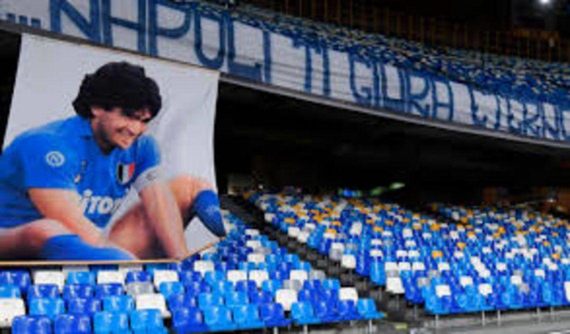 Napoli oficializó que su estadio se llamará Diego Armando Maradona
