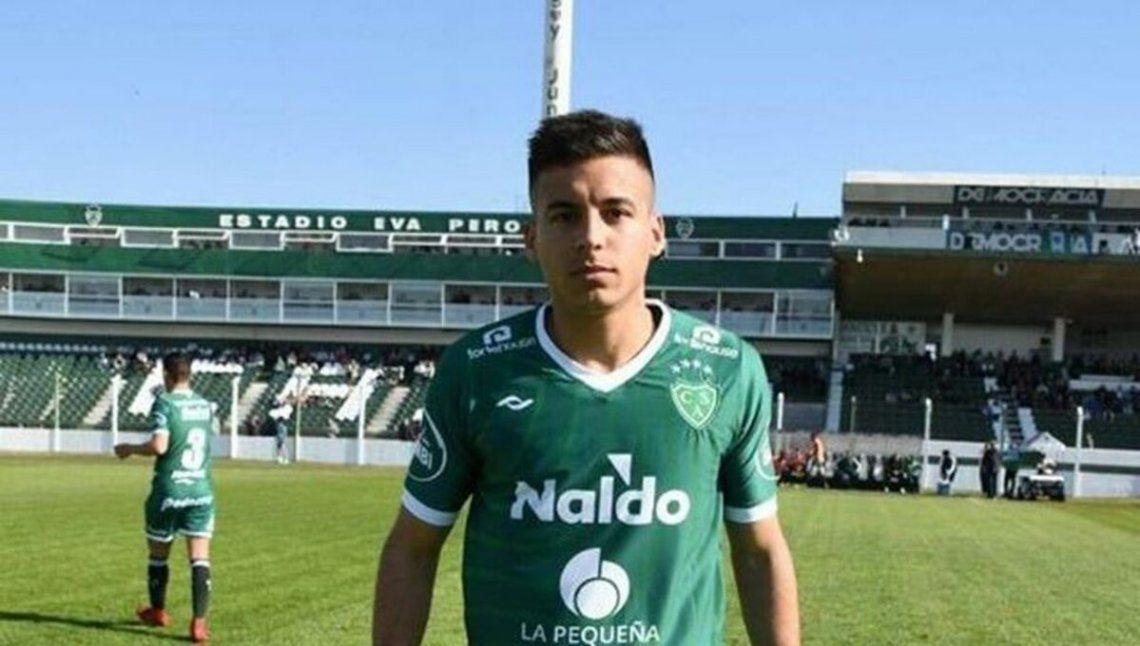 Claudio Pombo marcó uno de los goles de Sarmiento de Junín