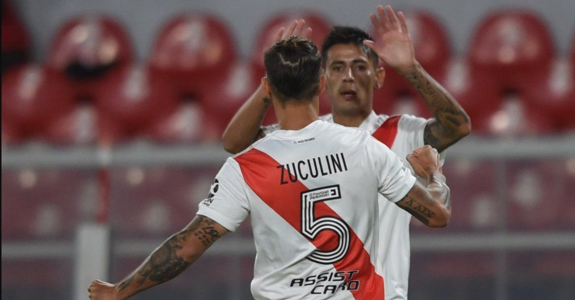 River Plate cumplió con el trámite: superó a Godoy Cruz 3-1