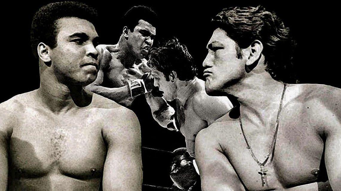 Ringo Bonavena y Muhammad Ali se divirtieron en la previa y jugaron en serio arriba del ring.