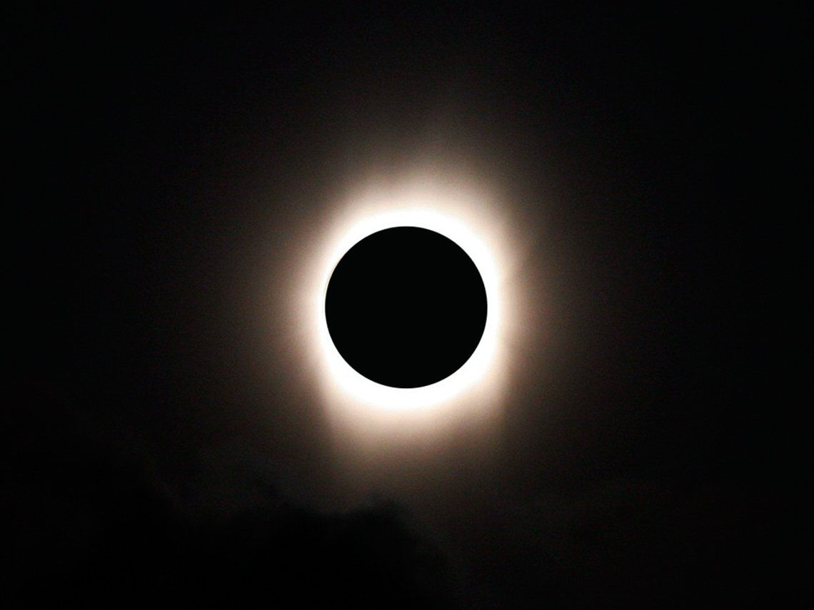Eclipse solar. Archivo.
