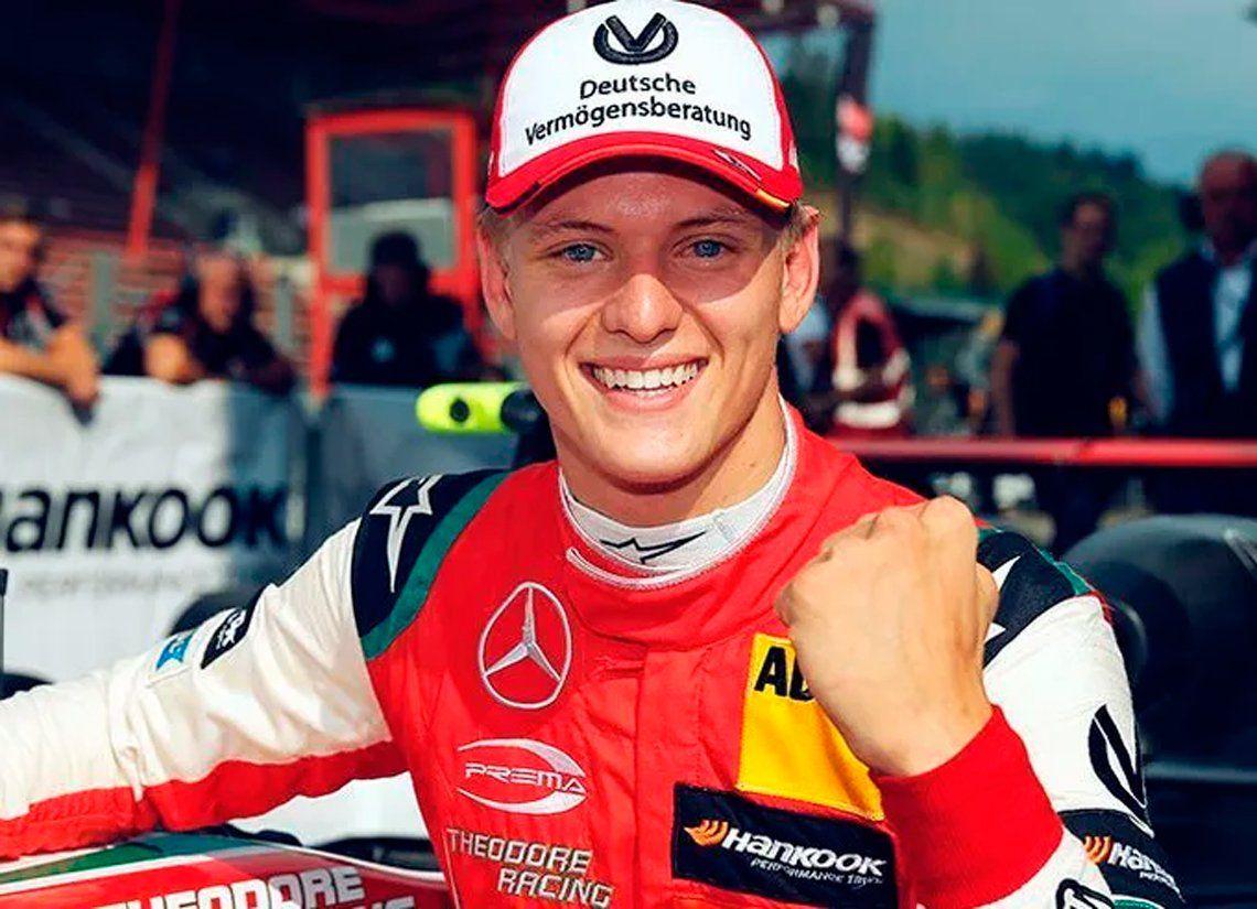 Mick Schumacher correrá en la F1 tras ser campeón del mundo en Fórmula 2.