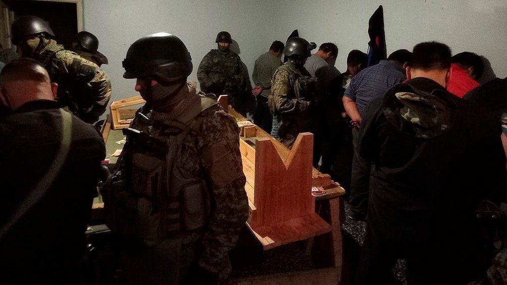 Chubut: 27 detenidos.