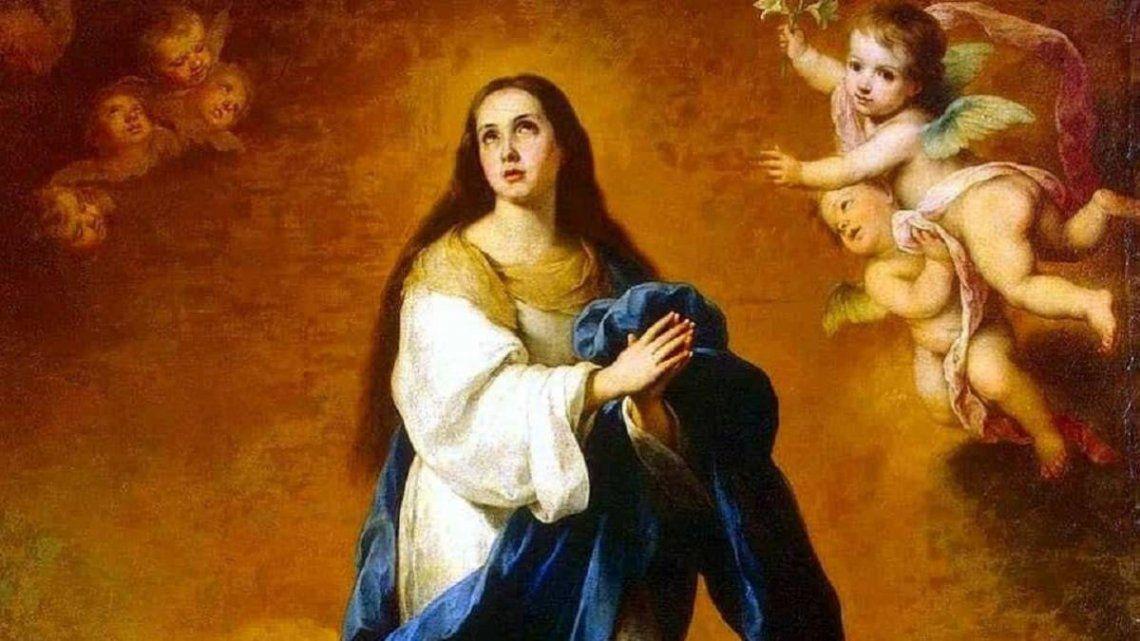 Iglesia: El 8 de diciembre de celebra la Solemnidad de la Inmaculada Concepción de la Virgen María