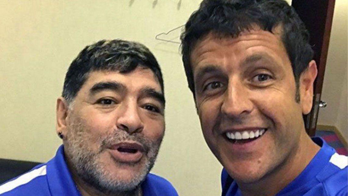 De Diego Maradona a su amigo napolitano: Tanito, estoy cansado, me voy con mi mamá y mi papá