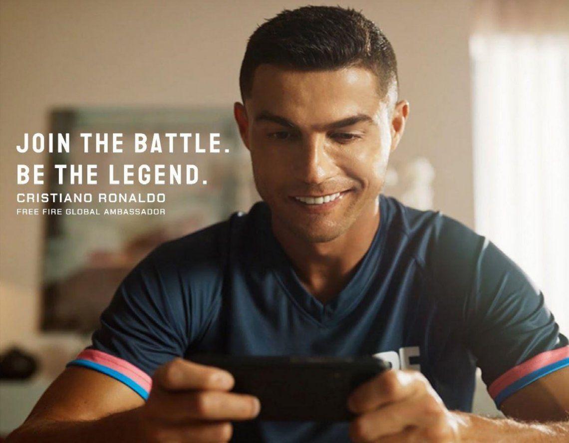Cristiano Ronaldo ya es un personaje de Free Fire, el videojuego mas popular del año