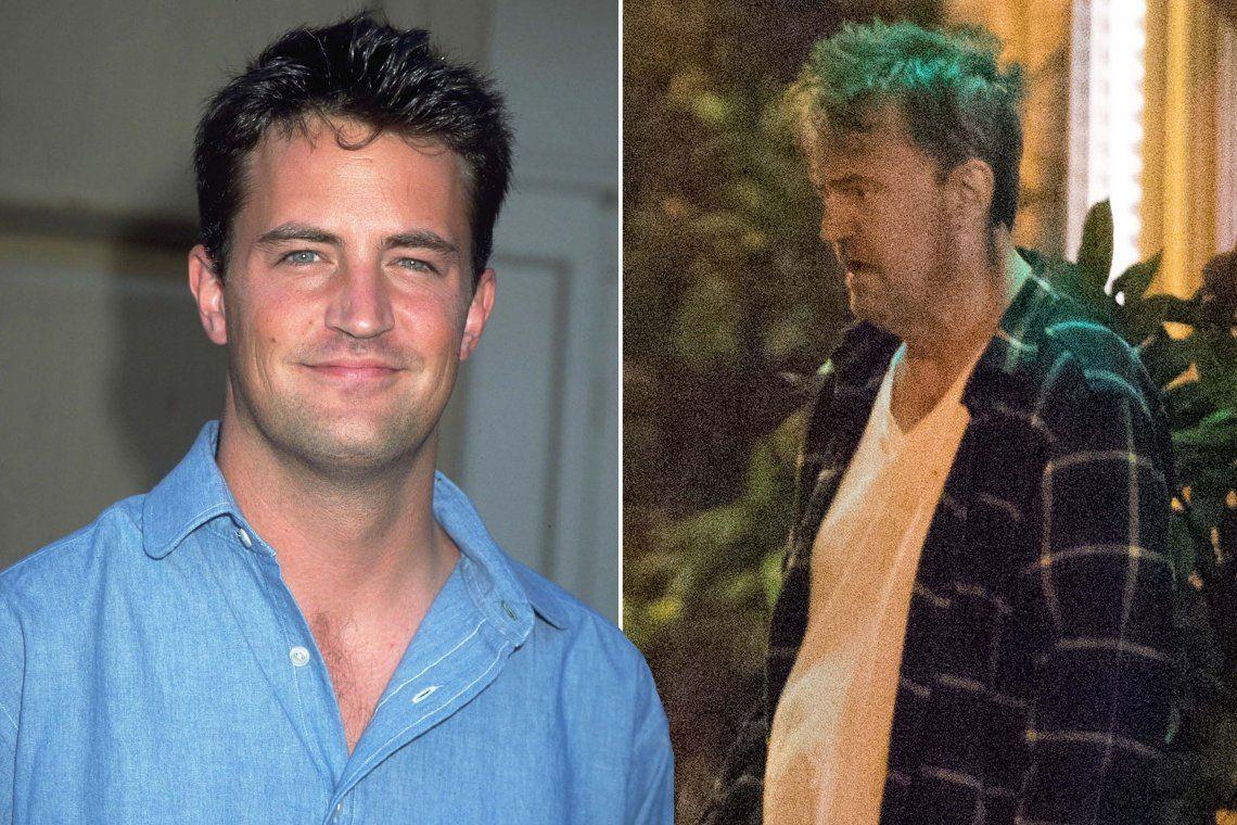 Matthew Perry ex actor de Friends
