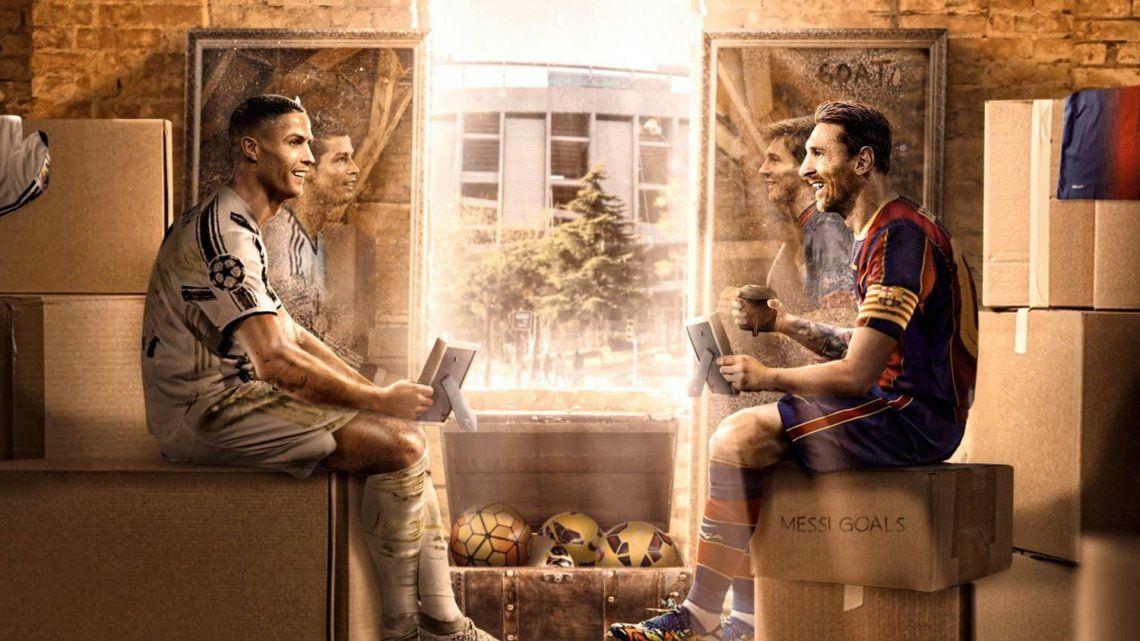 Messi y Cristiano Ronaldo vuelven a enfrentarse en la Champions League