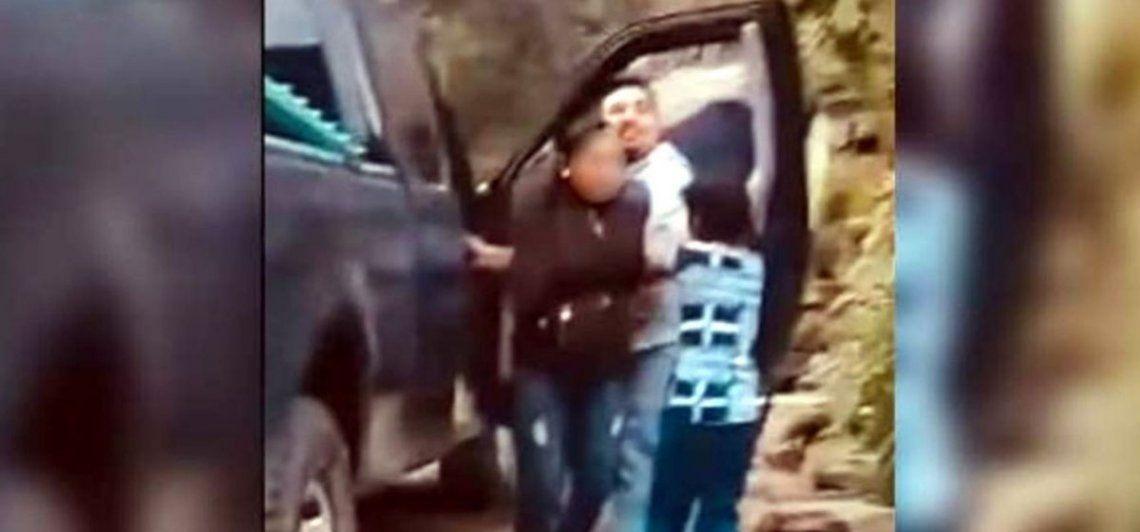La policía informó que la mujer fue encontrada y detenida
