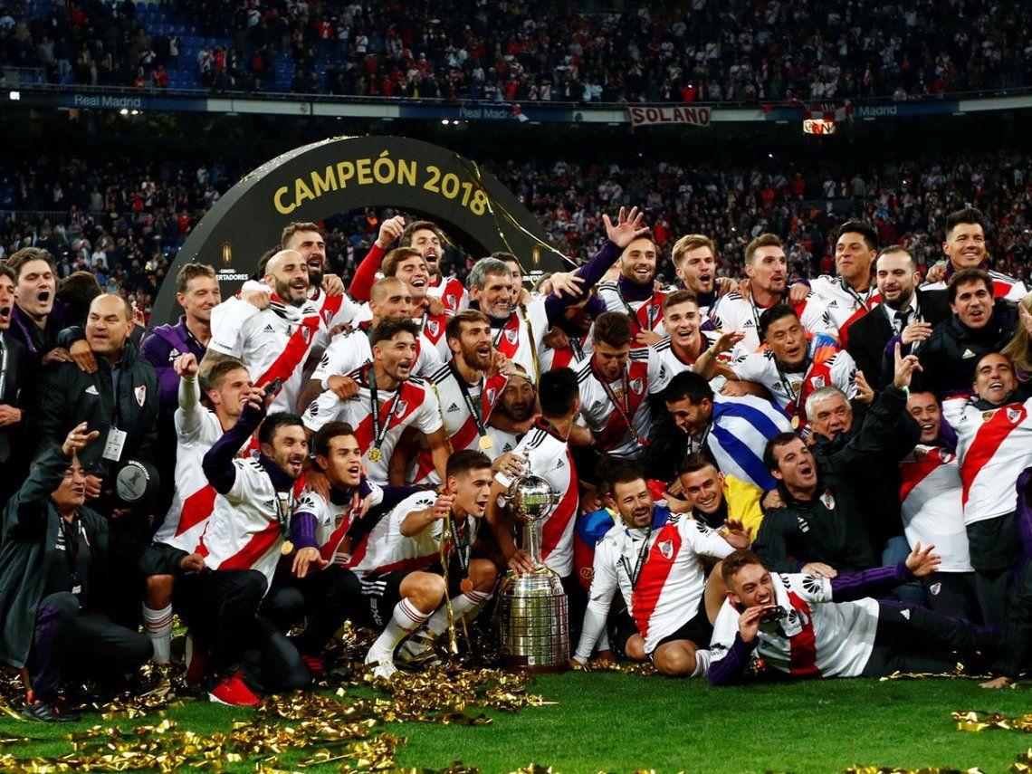 River Plate celebra el aniversario del triunfo sobre Boca en Madrid