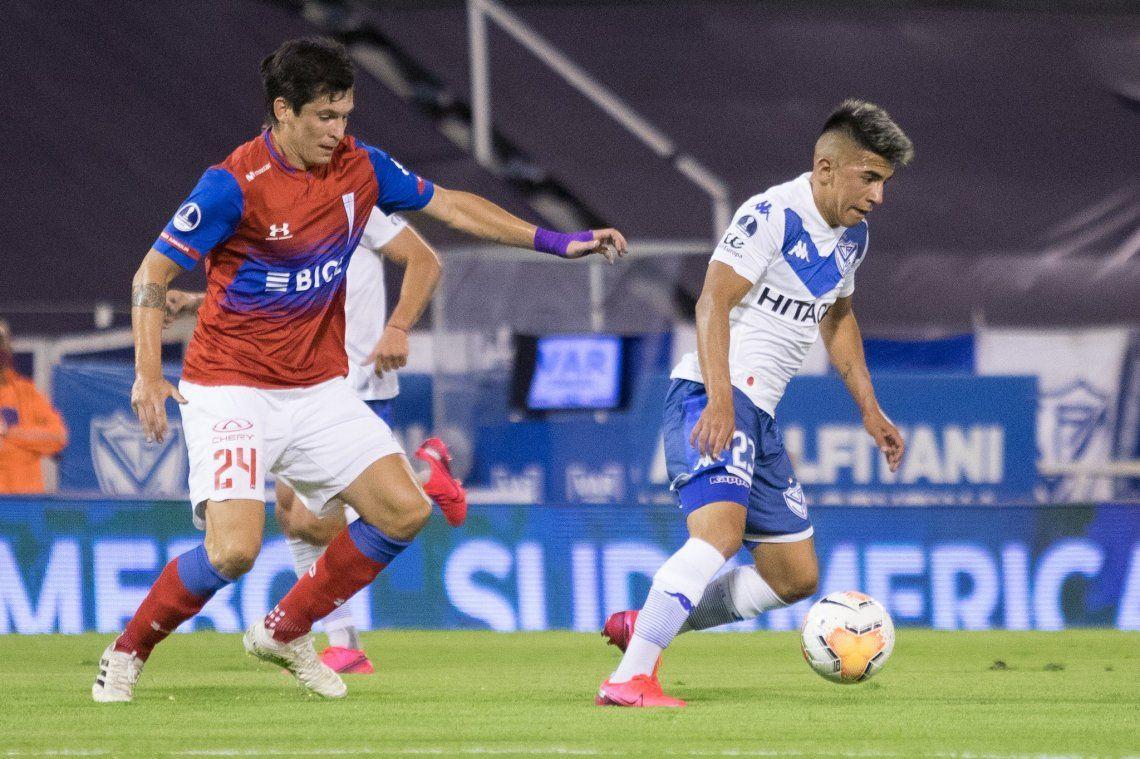 A Vélez no le alcanzó con el talento de Thiago Almada. La tendrá difícil en la revancha en Santiago de Chile