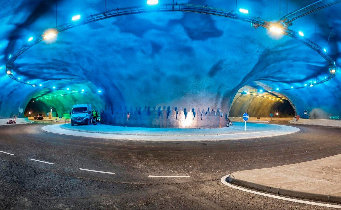 Dinamarca: inauguran la primera rotonda submarina del mundo