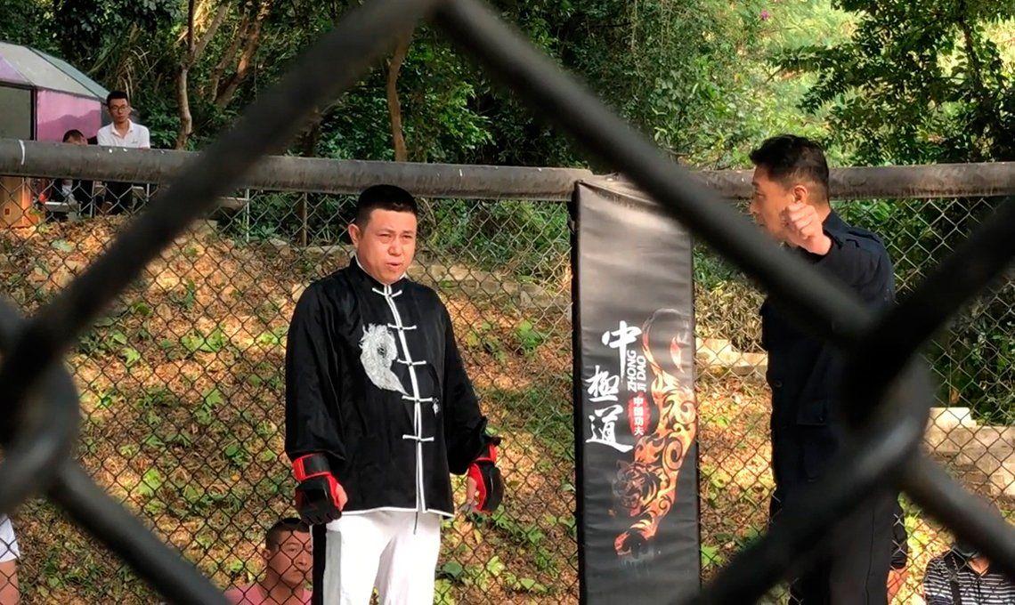 Maestro de taichí desafió a luchador de MMA y perdió a los 10 segundos