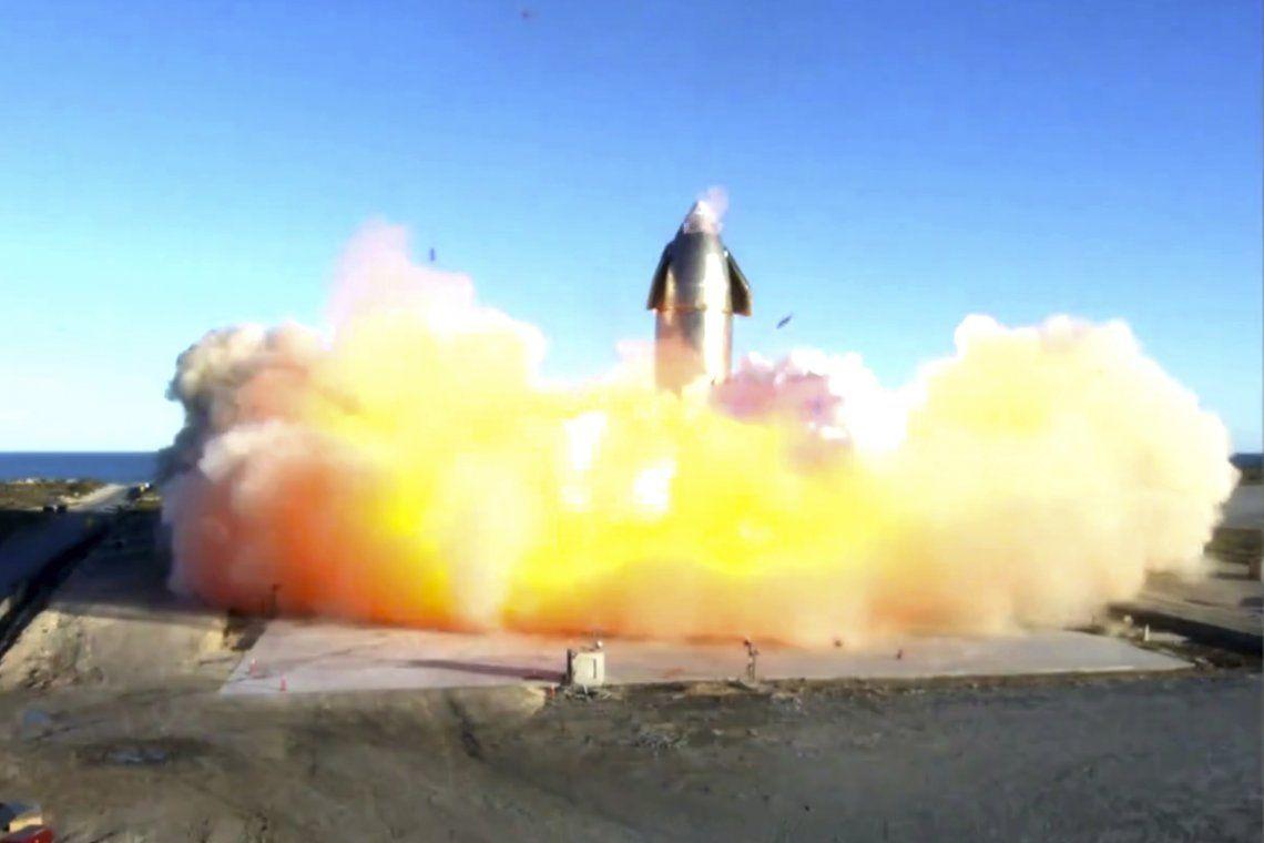 Explotó el prototipo de la nave espacial de SpaceX