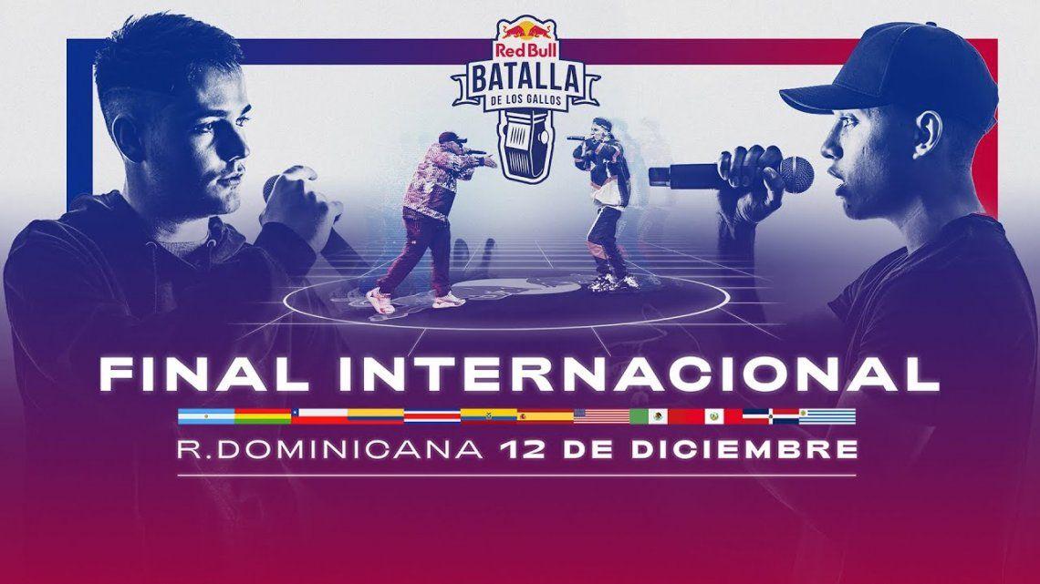 La final internacional de Red Bull será el sábado 12 de diciembre a las 16.30horario de Argentina.