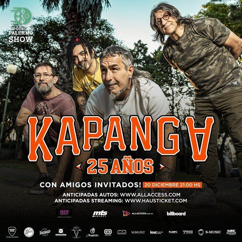 Kapanga celebra 25 años de vida con un autoshow en Palermo