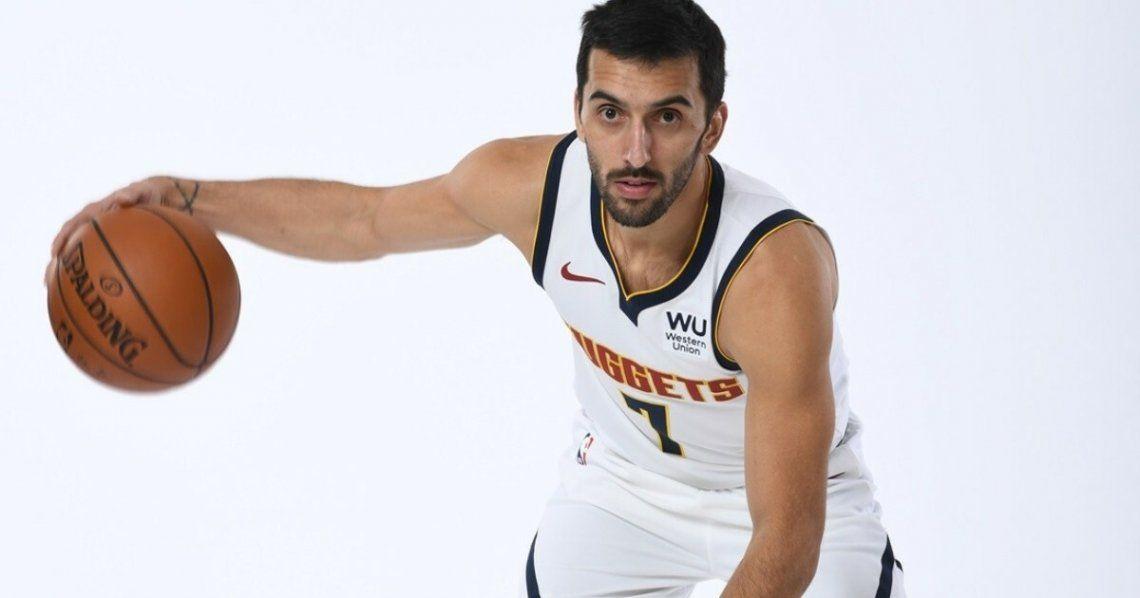 Facundo Campazzo debutará en la NBA el sábado 12 de diciembre.