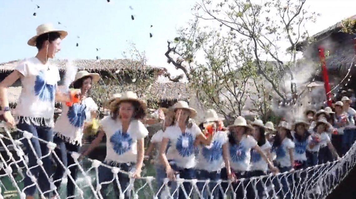 Tailandia: blooper en una certamen.