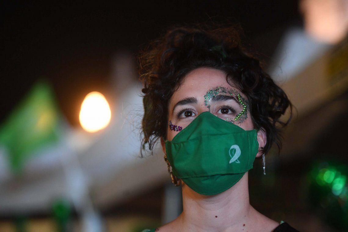 En fotos: así se vivió la media sanción en diputados de la ley de aborto legal