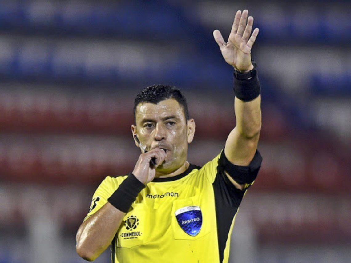 Árbitros confirmados para los cuartos de final de la Copa Libertadores.