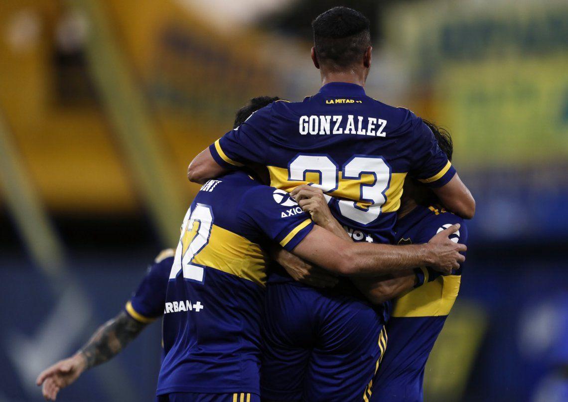 El Pulpo González reaparecerá en el mediocampo de Boca para jugar contra el Santos.