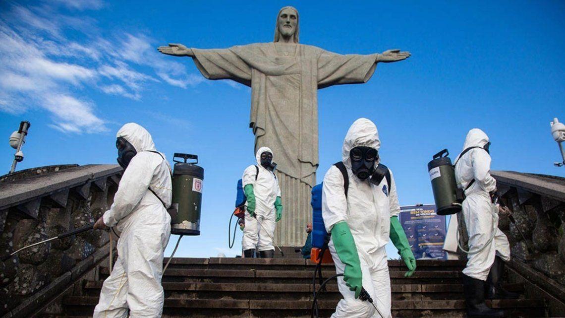 En Río de Janeiro continúan con estrictos protocolos para evitar contagios de coronavirus