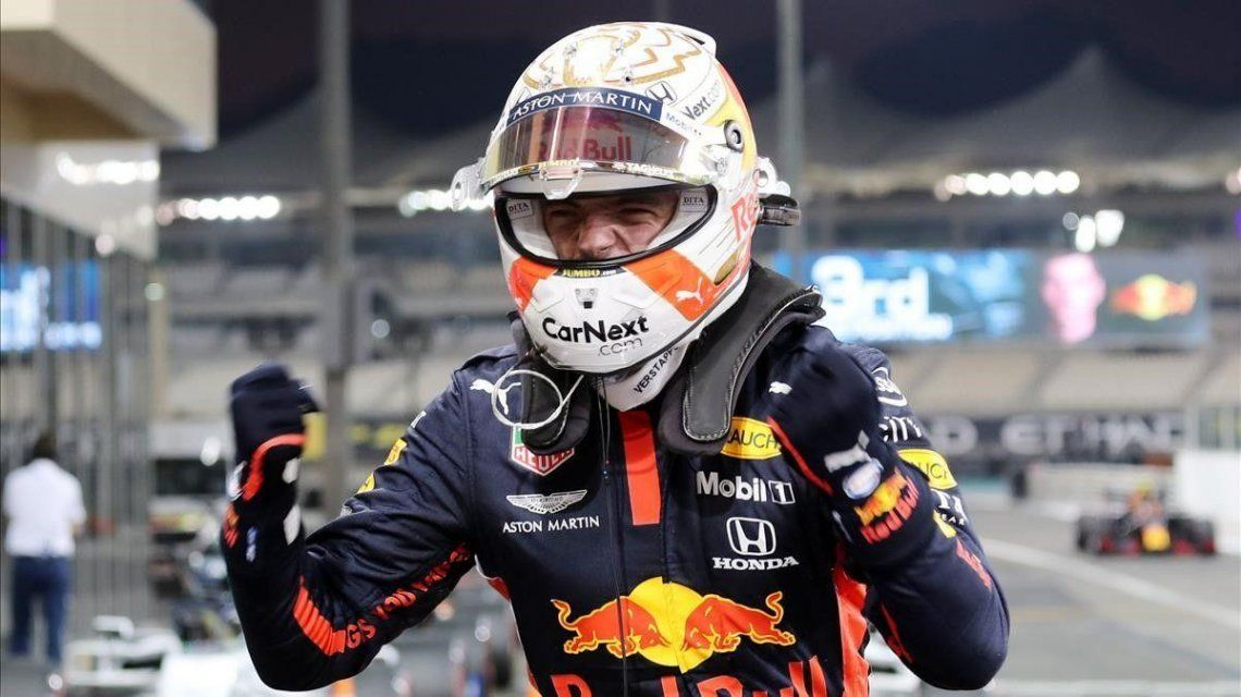 El neerlandés del equipo Red Bull ganó la última carrera de F1 del año