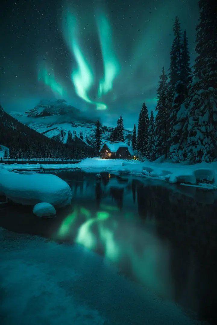 Bajo un cielo canadiense