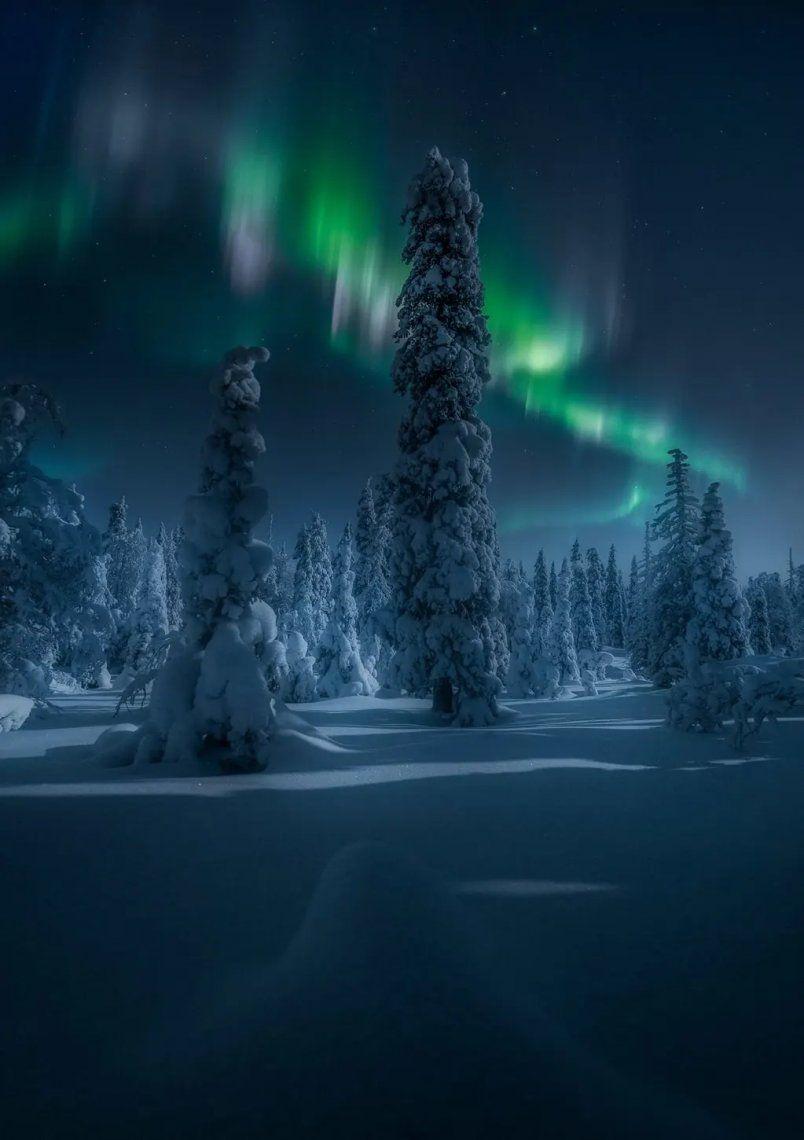 Finlandia de noche