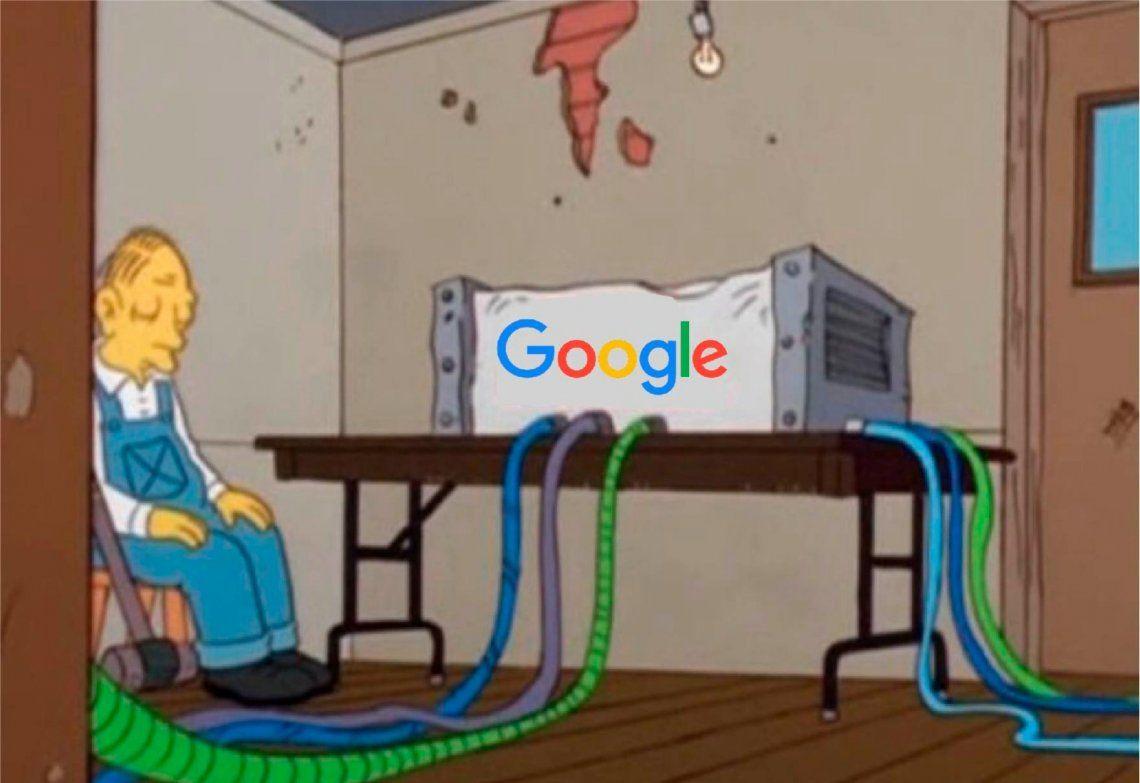Se cayó Google: Gmail, YouTube y Drive, fuera de servicio