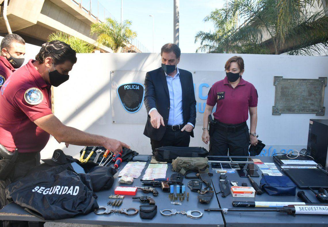 La Policía de la Ciudad desbarató la banda de los politruchos