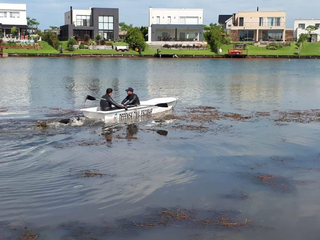 Escobar: Guido Orlando se ahogó en un lago artificial