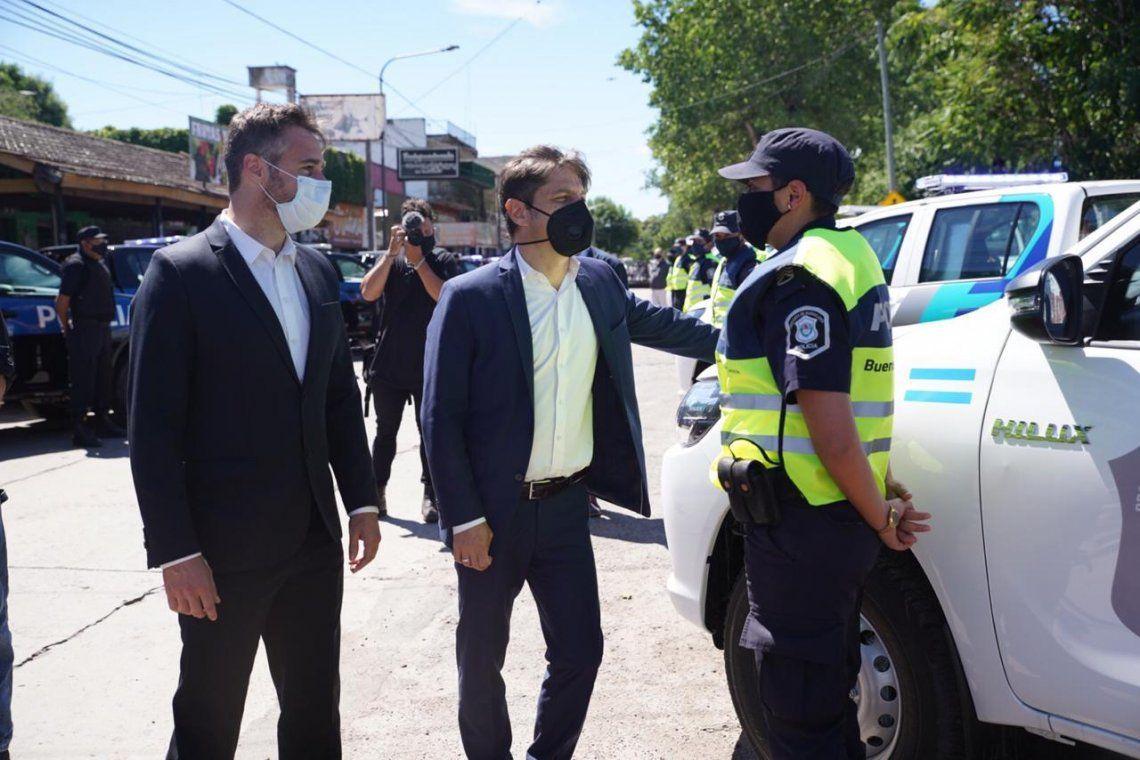 Pilar: Achával y Kicillof trabajn en conjunto por la seguridad del distrito