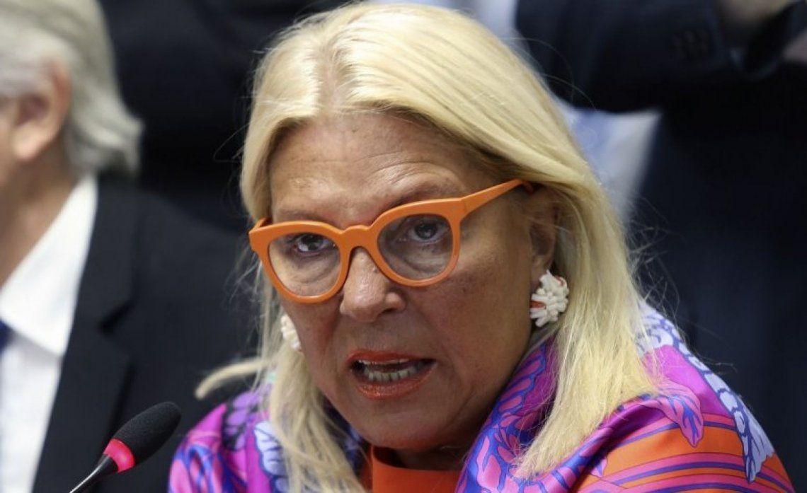 Elisa Carrió pedirá el juicio político de la vicepresidenta Cristina Kirchner