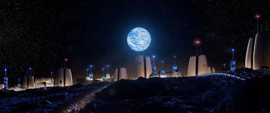 Luna: cómo será Moon Village, el primer vecindario humano