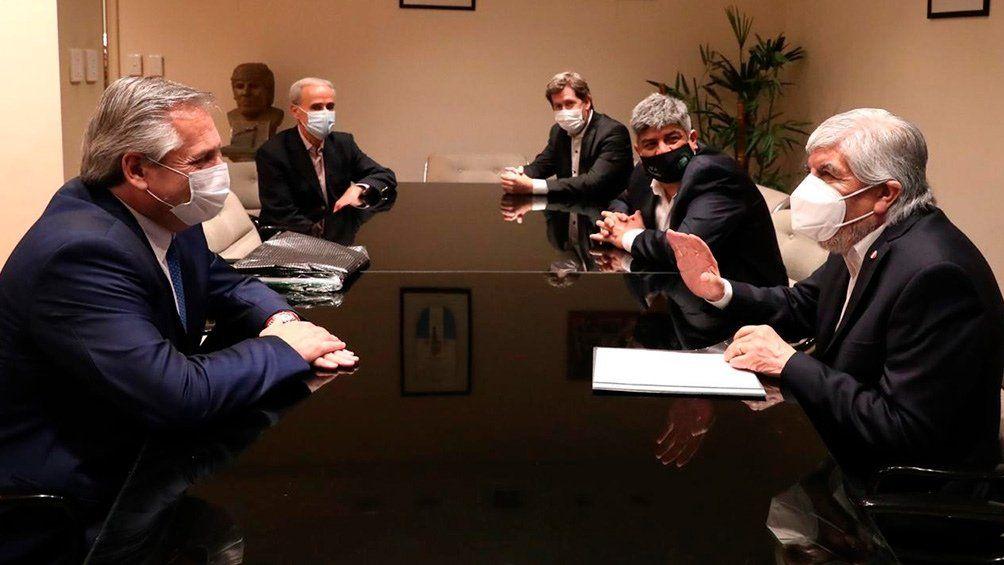 Alberto Fernández: Estoy acá como presidente pero antes que nada soy un compañero