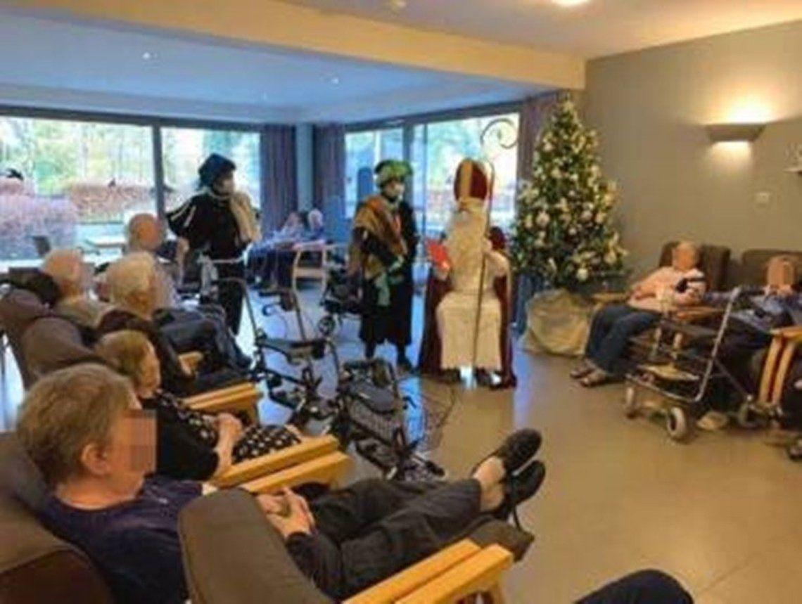 Bélgica: Papá Noel contagio a 118 personas de coronavirus.