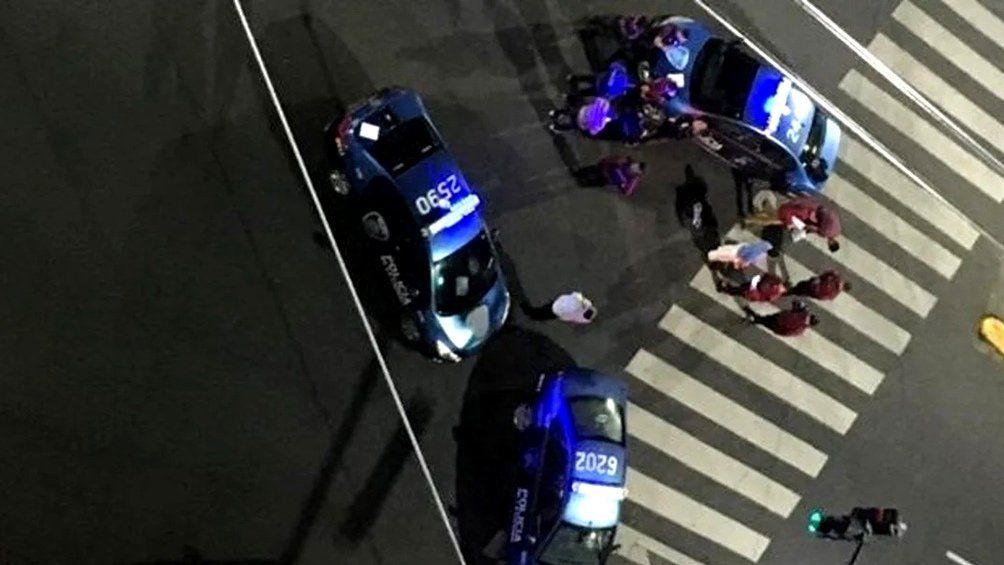 El barrio de Caballito vivió un crimen de tintes mafiosos.