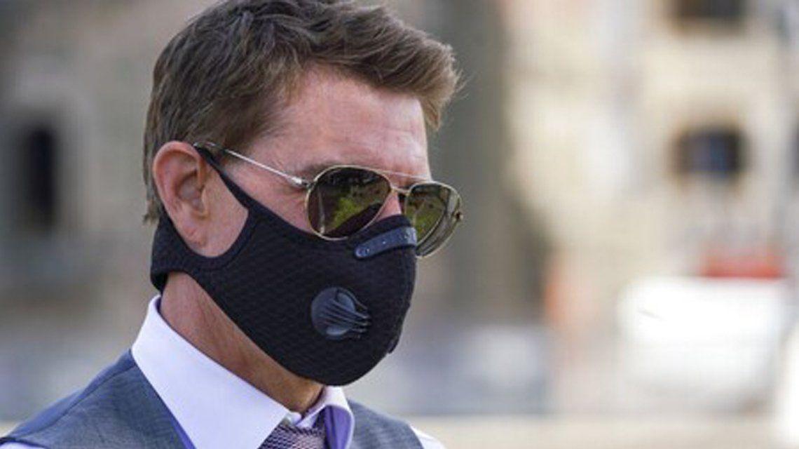 Tom Cruise enojado con el equipo de Misión Imposible 7.