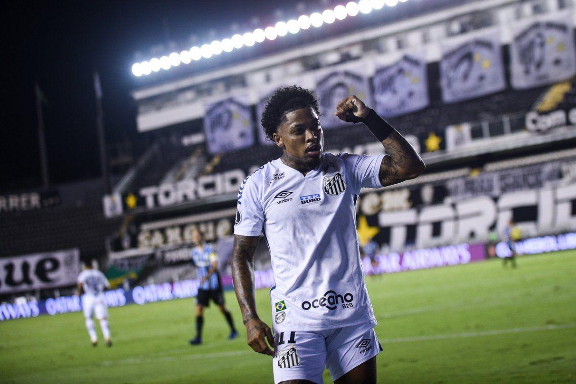 Santos pasó a semifinales de la Copa Libertadores y espera por Boca o Racing.