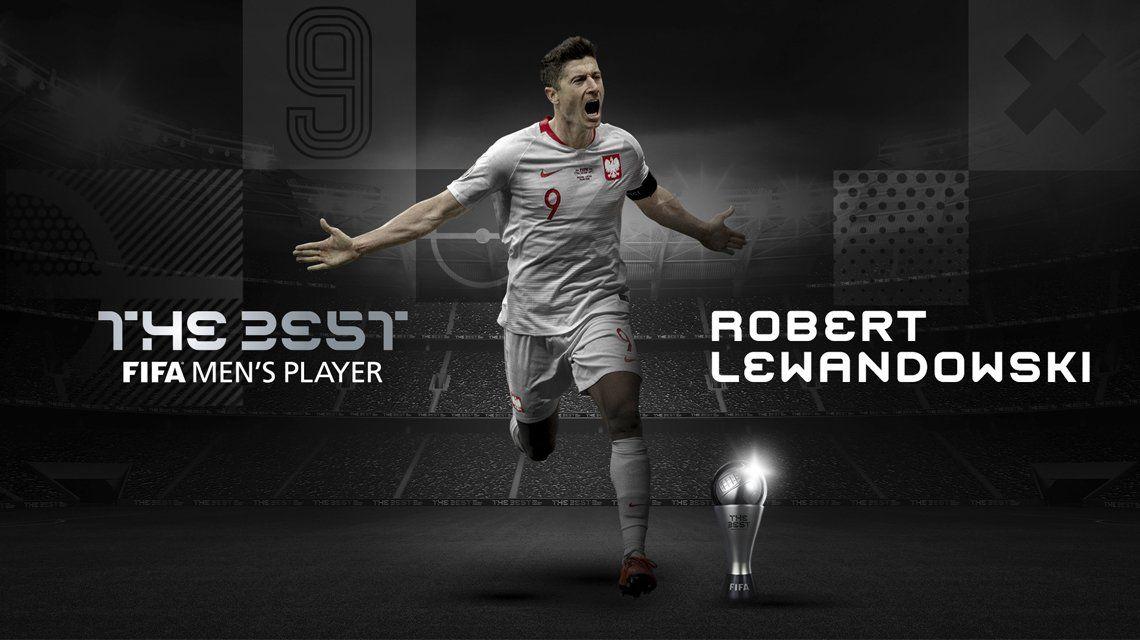 The Best 2020: Robert Lewandowski superó a Messi y Ronaldo.
