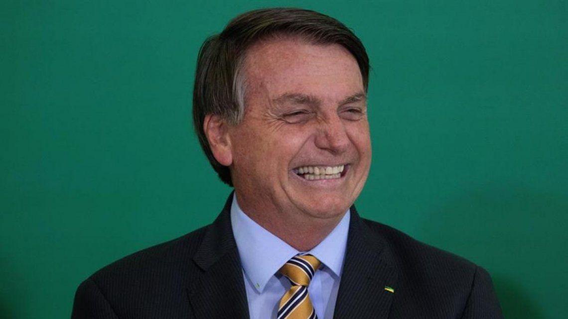 Jair Bolsonaro criticó la vacuna de Pfizer: Si te conviertes en un yacaré es tu problema